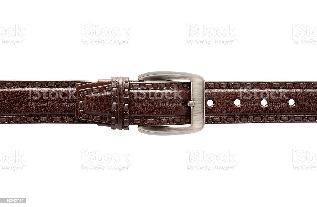 Brown Belt stock photo