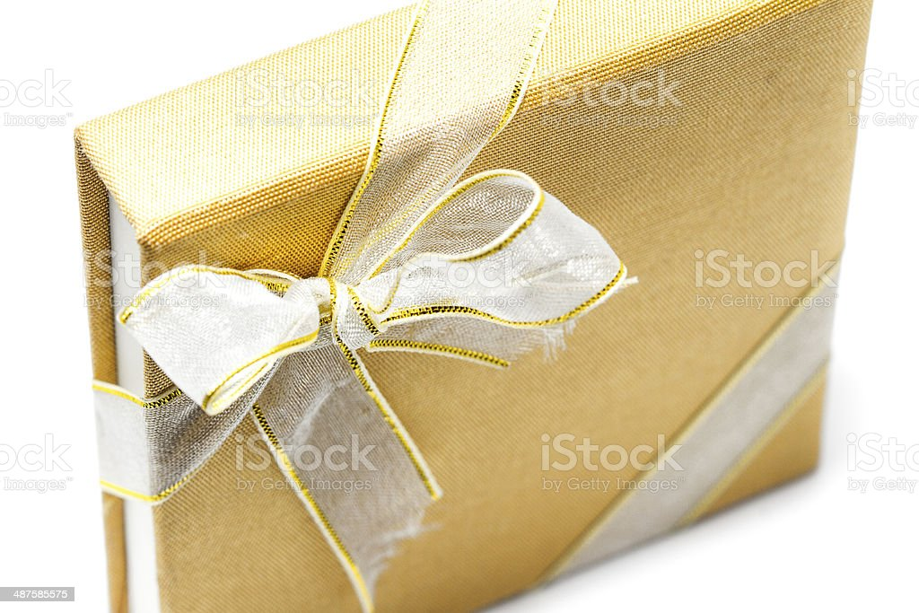 brown book with ribbon royalty-free stock photo