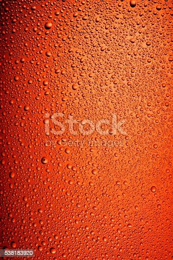istock Brown bottle beer texture 538183920