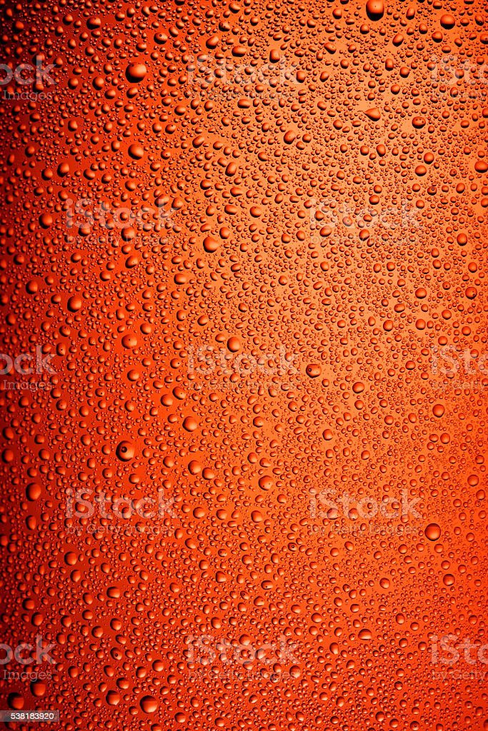 Brown bottle beer texture stock photo