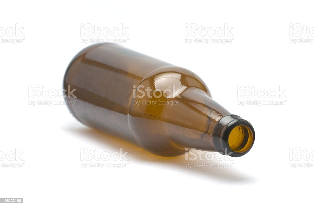 Brown Bottle stock photo
