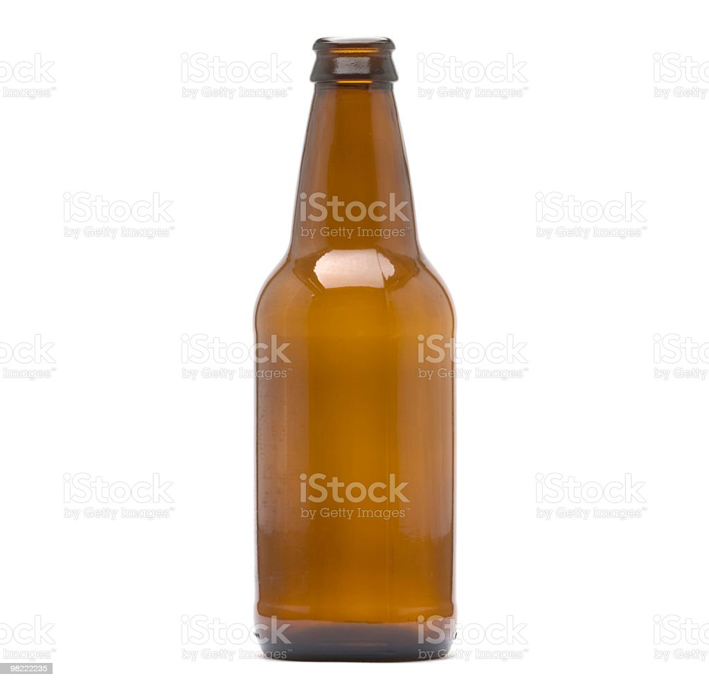 Brown Bottle royalty-free stock photo
