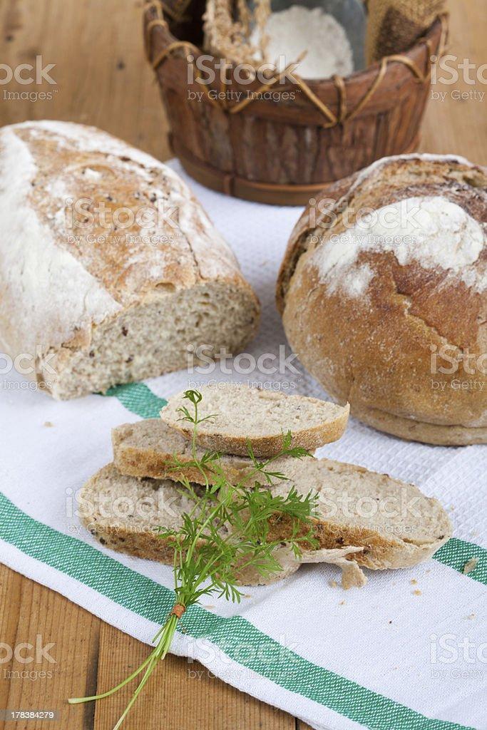 Brown Bread stock photo