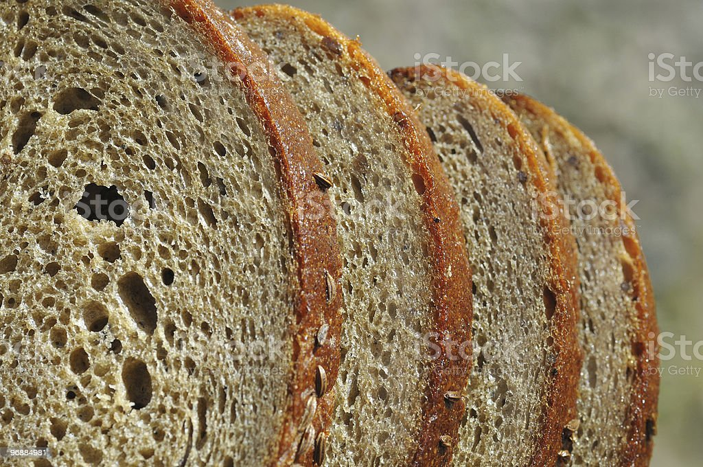 Brown  bread ver1 royalty-free stock photo