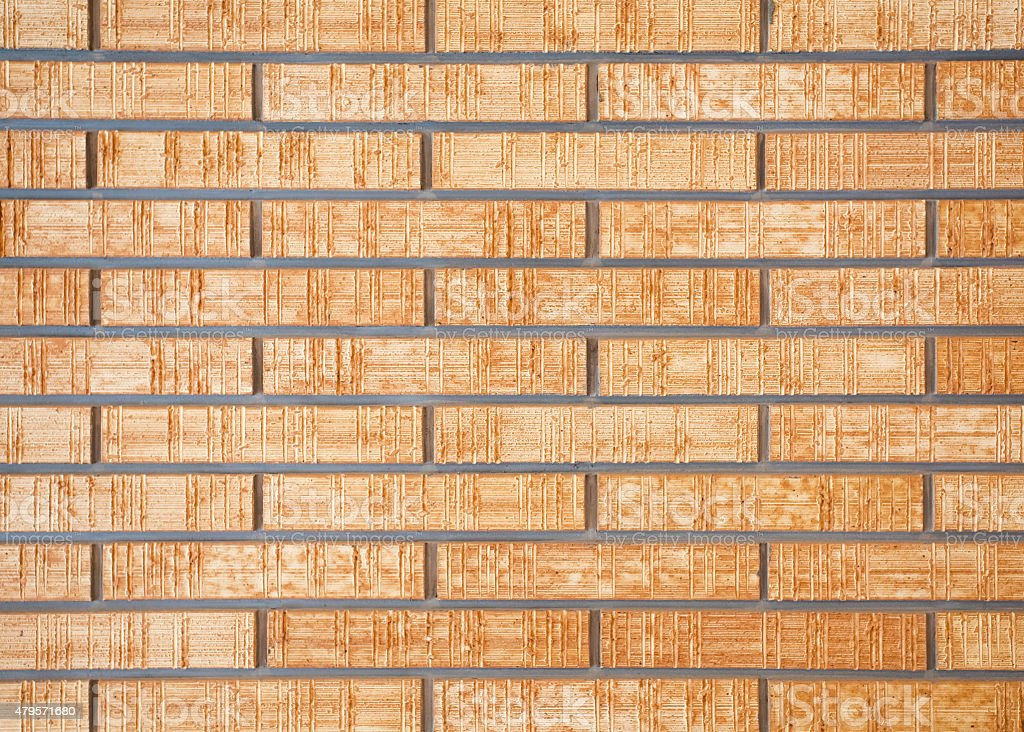 Brown Brick Stone Wall Seamless Background And Texture Stock Photo ...