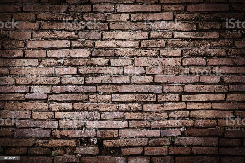Brown Brick Wall royalty-free stock photo