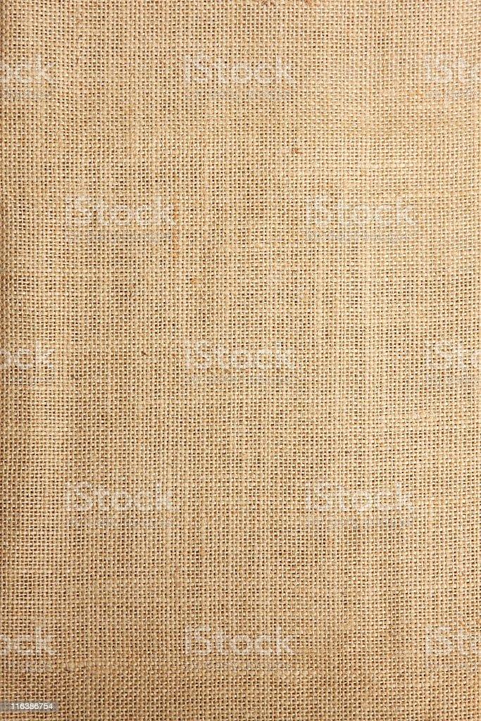 Brown burlap background pattern stock photo