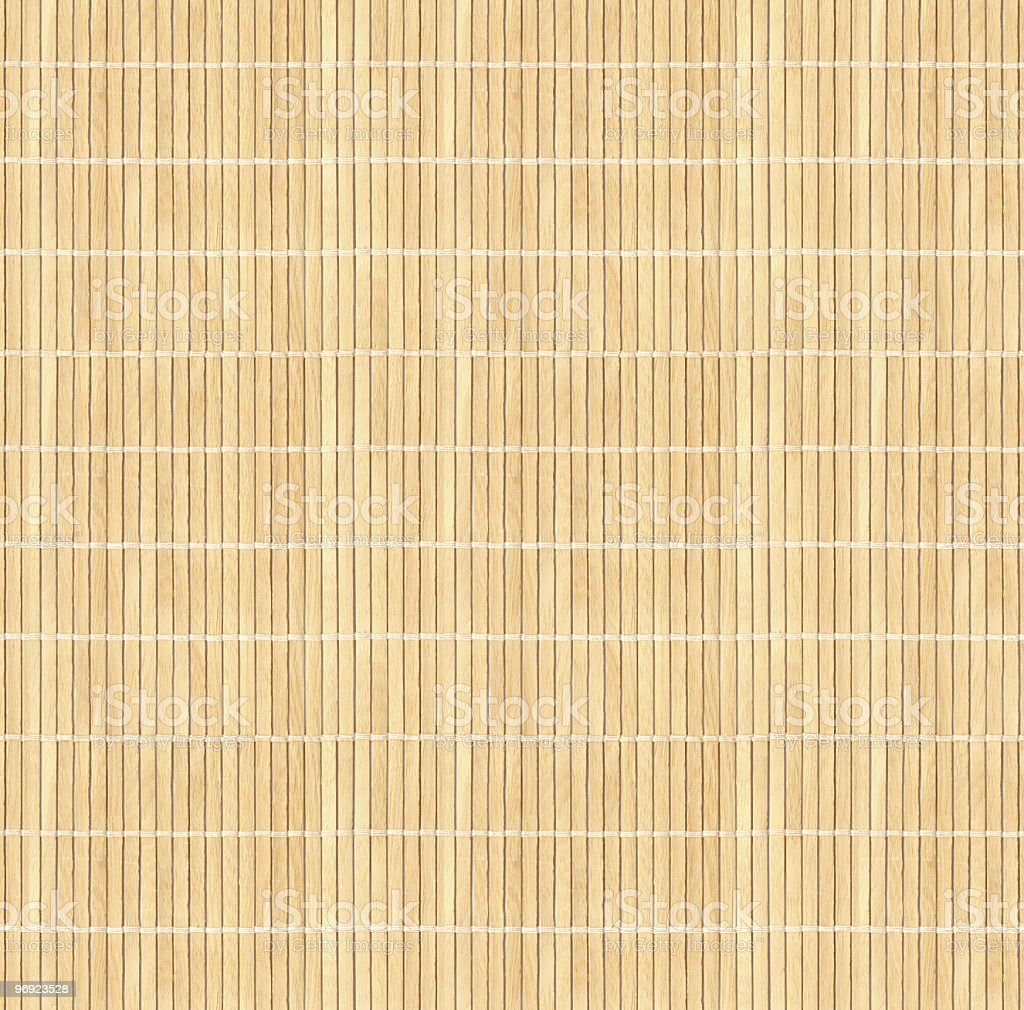 Brown Cane Matting royalty-free stock photo