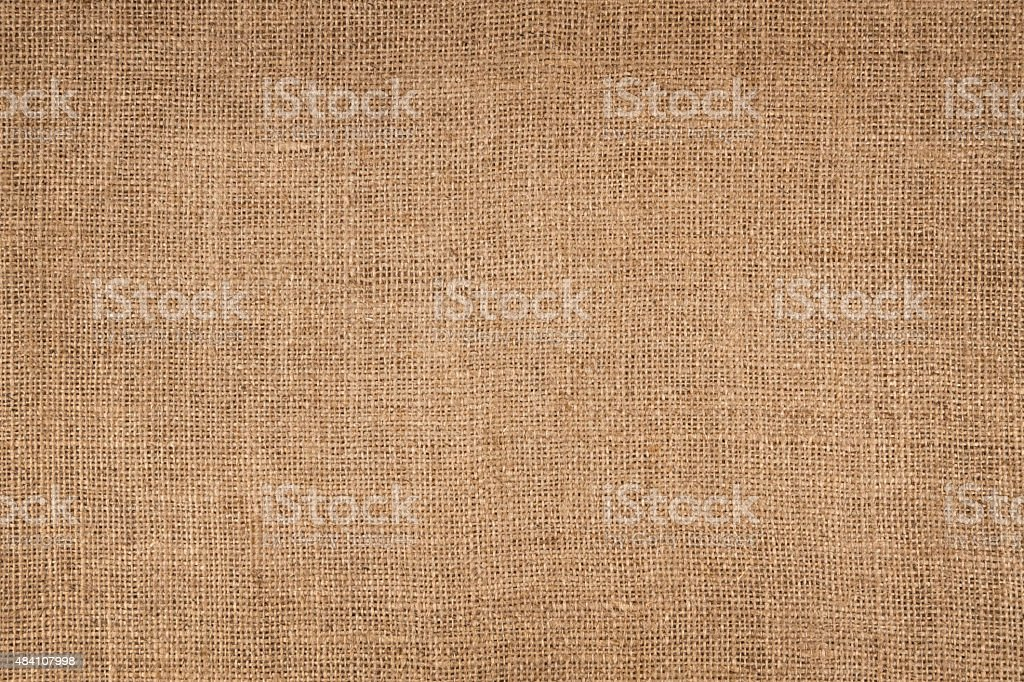 Brown Canvas Background stock photo