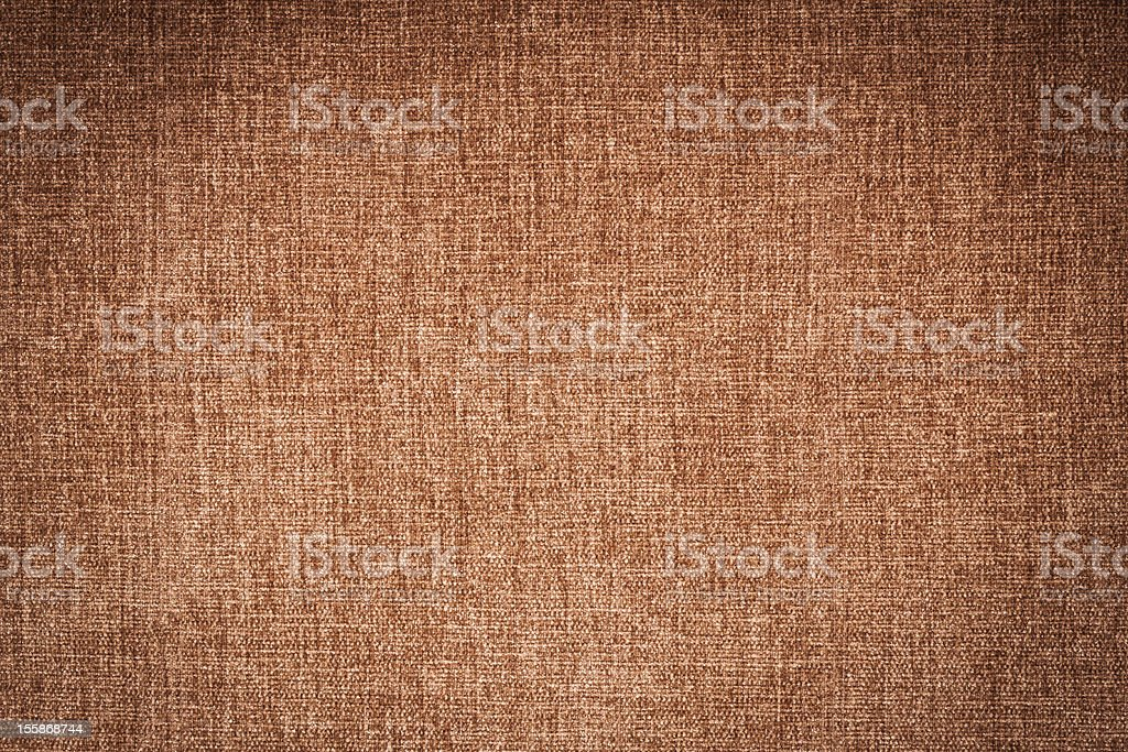 Brown canvas texture or background royalty-free stock photo