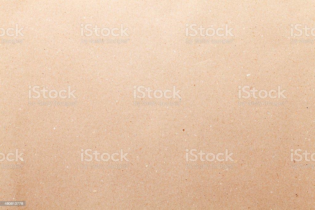 Brown cardboard paper stock photo