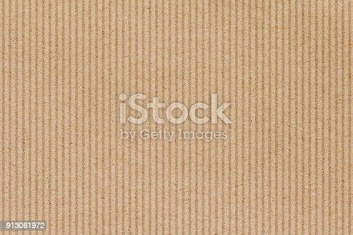 istock Brown cardboard paper texture background 913061972