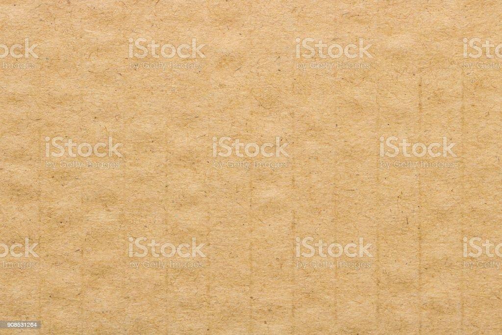 Brown cardboard texture, paper box background.