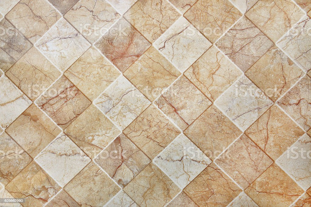 Brown ceramic tile texture for pattern and background fotografie