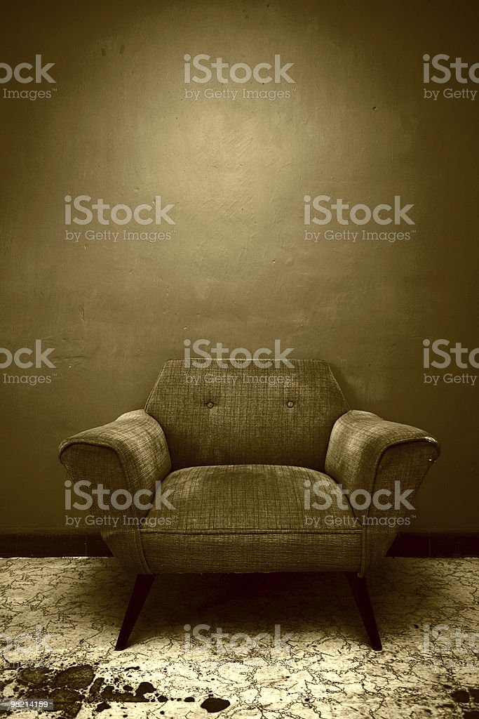 Brown Chair royalty-free stock photo