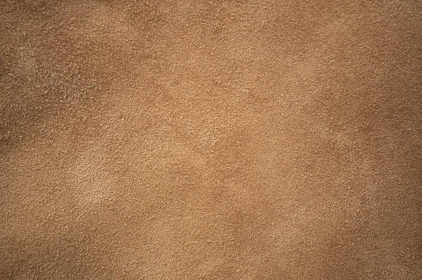 Brown chamois texture Brown chamois texture, fluffy and soft cowhide stock pictures, royalty-free photos & images