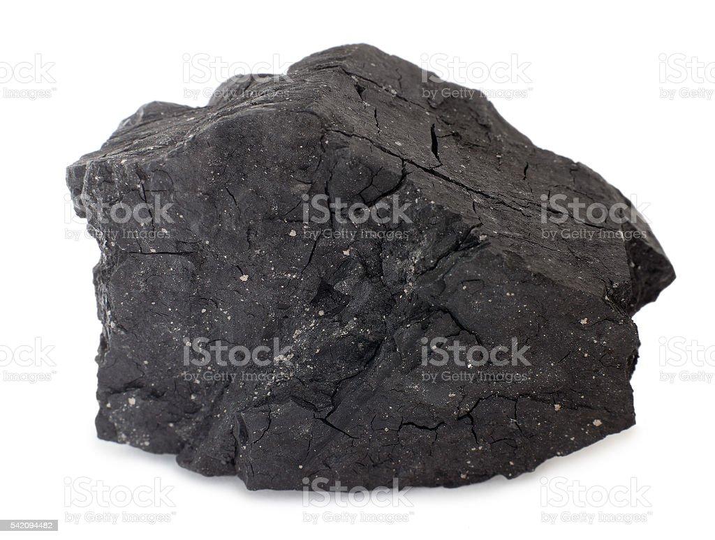 Brown coal (lignite) stock photo