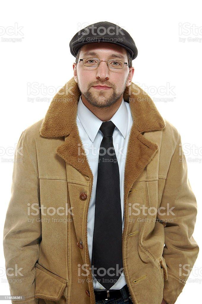 Brown Coat royalty-free stock photo