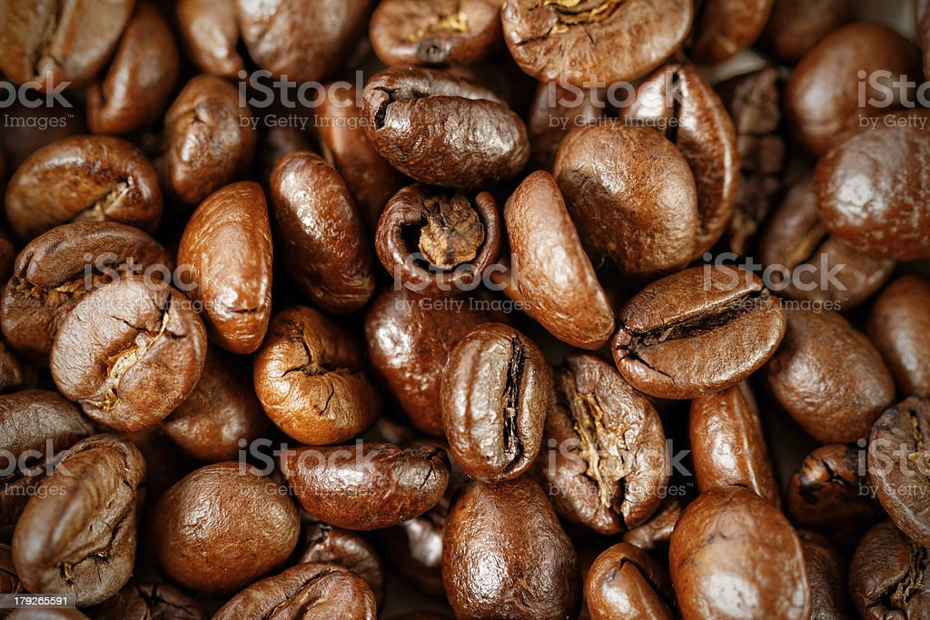 Brown coffee royalty-free stock photo