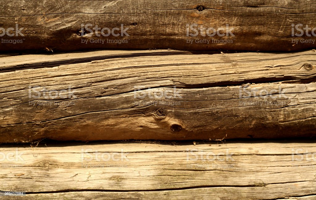 Brown color wooden fence pattern. royalty-free stock photo