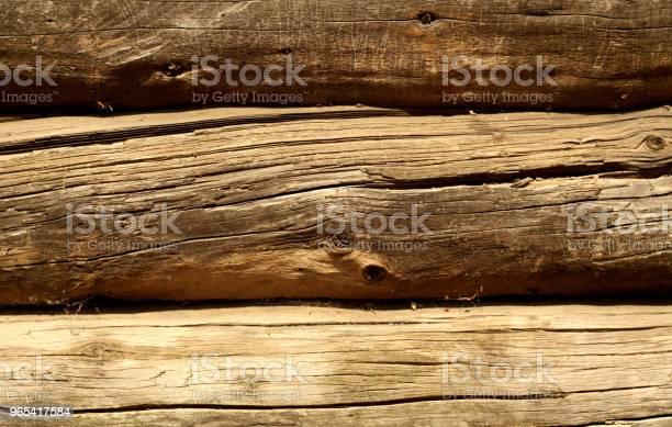 Brązowy Kolor Drewniany Wzór Ogrodzenia - zdjęcia stockowe i więcej obrazów Architektura