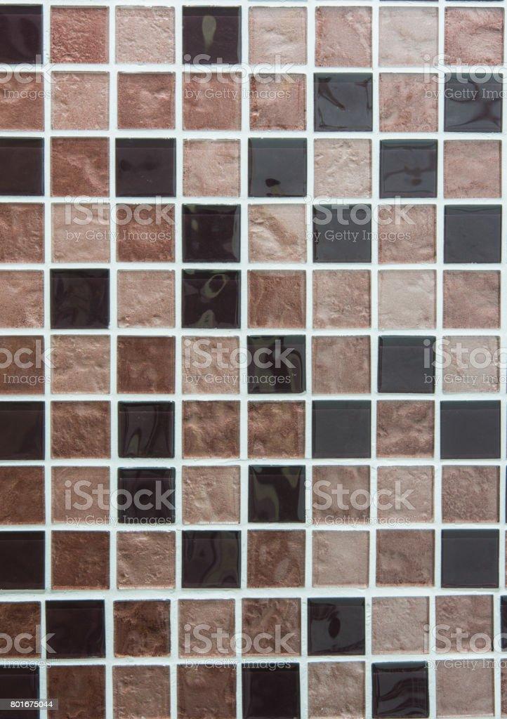 Photo Libre De Droit De Tuiles De Mosaique De Couleur Marron Banque D Images Et Plus D Images Libres De Droit De Brique Istock