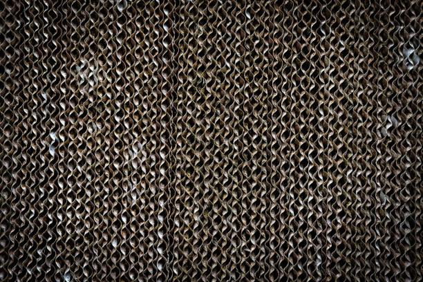 braune Kühlkissen Verdunstungskühler für Textur-Hintergrund – Foto