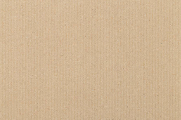 brązowe tło tekstury tektury falistej - karton tworzywo zdjęcia i obrazy z banku zdjęć