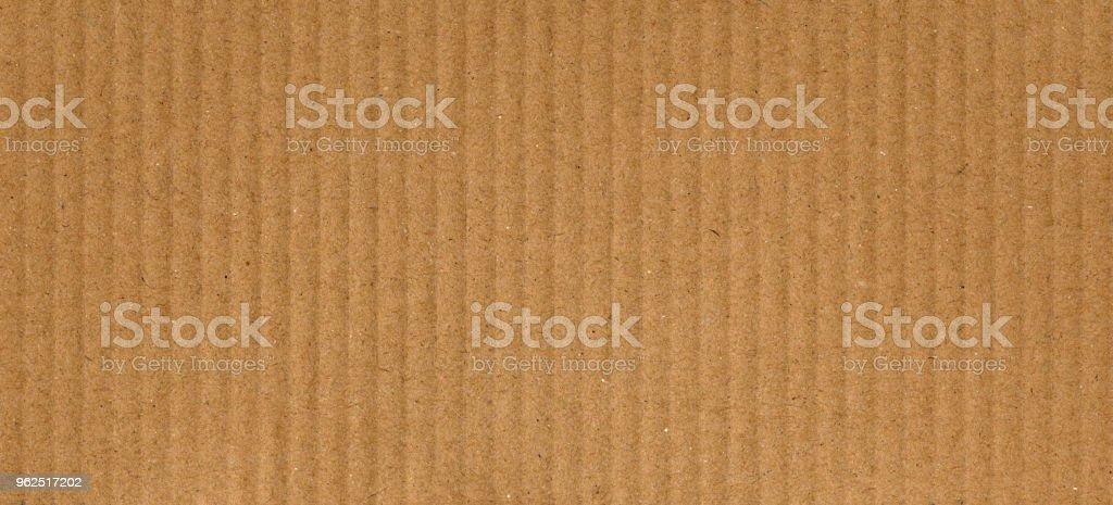 fundo de textura marrom de papelão ondulado - Foto de stock de Corrugado royalty-free