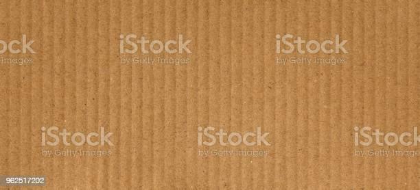Foto de Fundo De Textura Marrom De Papelão Ondulado e mais fotos de stock de Corrugado