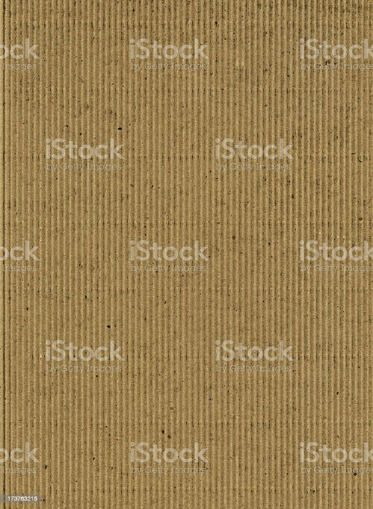 Brown Corrugated Cardboard XXL royalty-free stock photo