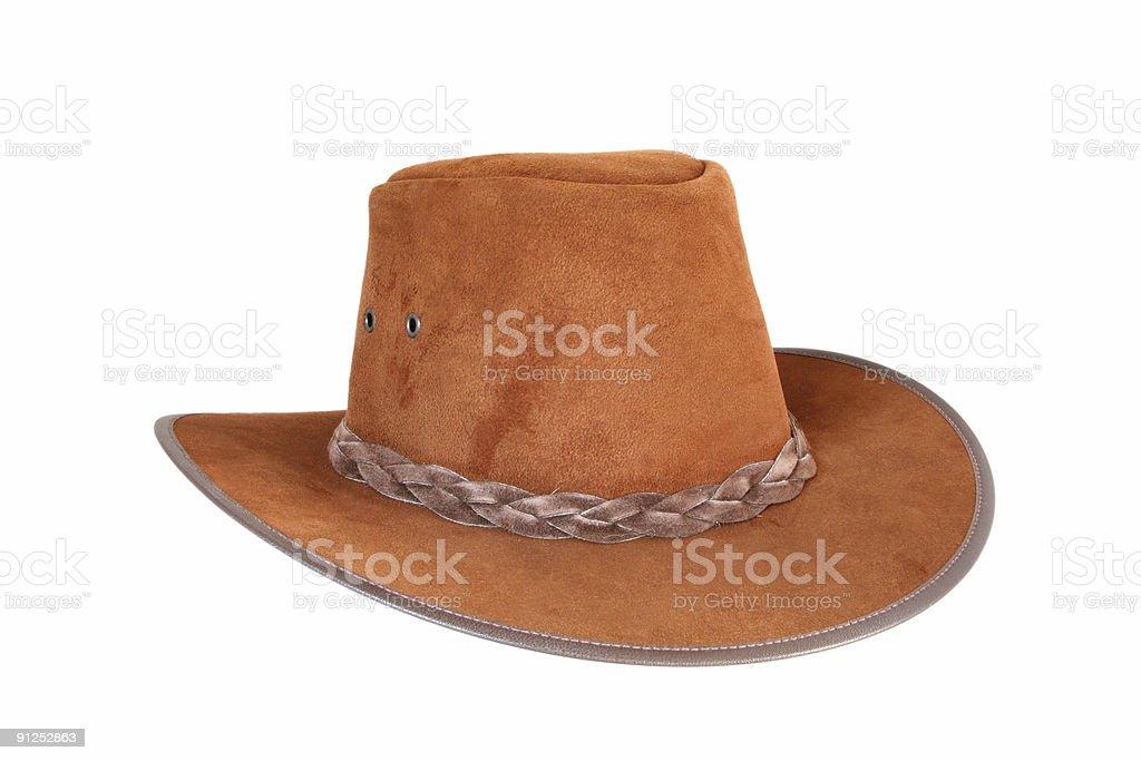 Brown Cowboy Hat stock photo