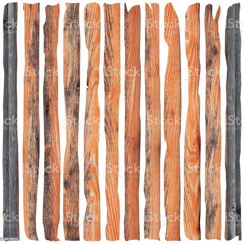 brown damaged planks stock photo
