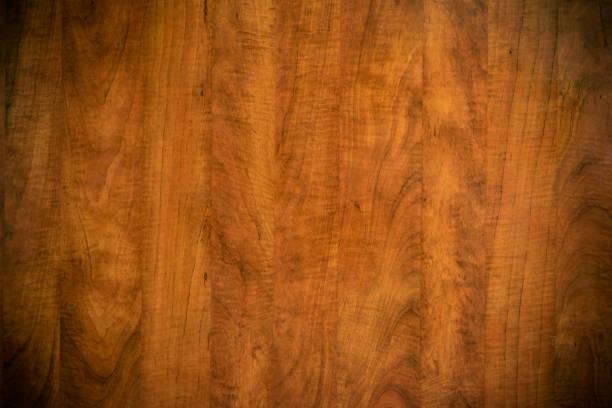 Braun eisdunkel zerkratzt Holzschneiden, Schneidebrett. Holz-Textur. – Foto