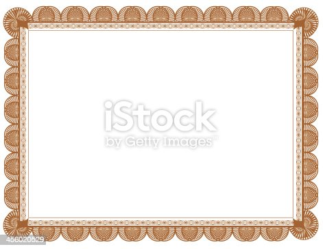 brown document frame 85 x 11 stock photo istock - Document Frames 85 X 11