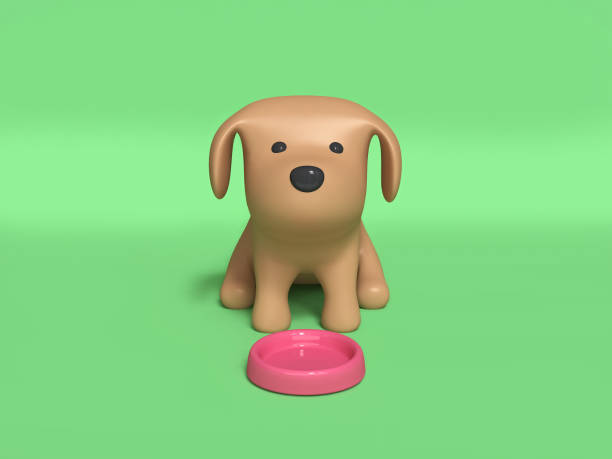 Brown dog sitting and pink dog dish 3d rendering picture id949860506?b=1&k=6&m=949860506&s=612x612&w=0&h=sht4eip9rqc8owbuwbvfmlszqaz v1al3c6gncfvuuc=