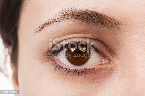 Brown Eyes - Close Up
