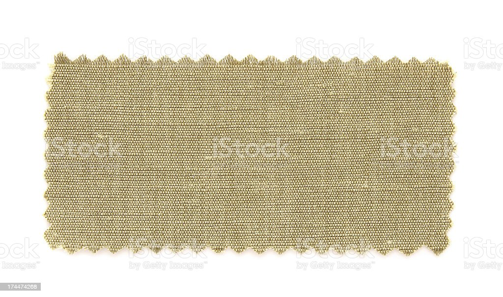 brown fabric swatch samples royalty-free stock photo