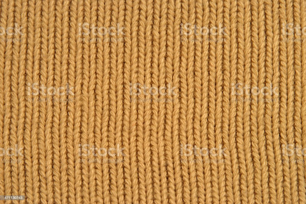 Brown Fabric Swatch Textile Close Up royalty-free stock photo