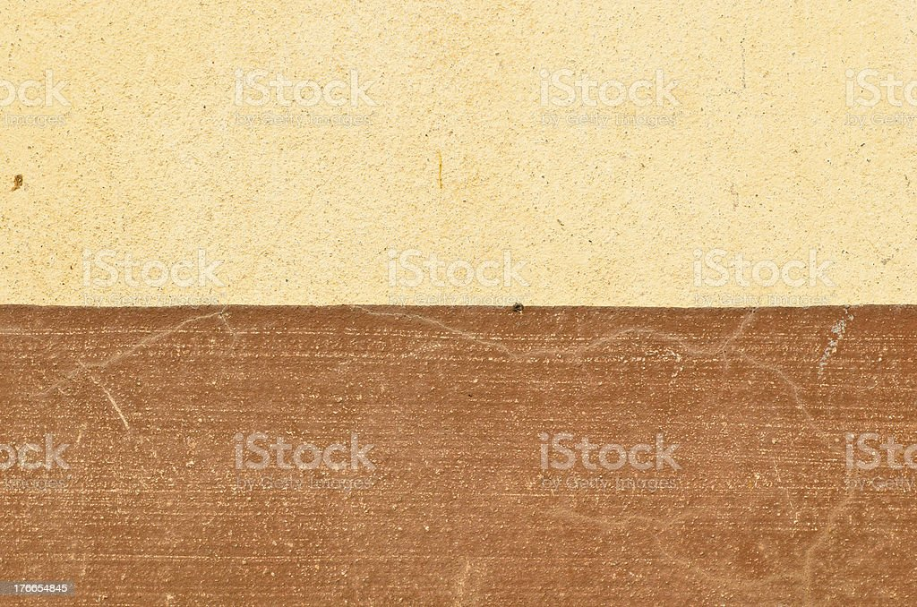 Brown flat wall royalty-free stock photo