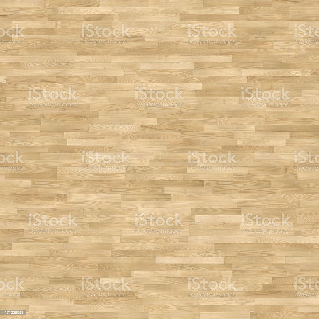 A brown flooring made of wooden tiles stock photo