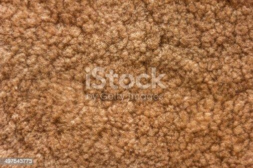 istock Brown Fur Texture. 497543773