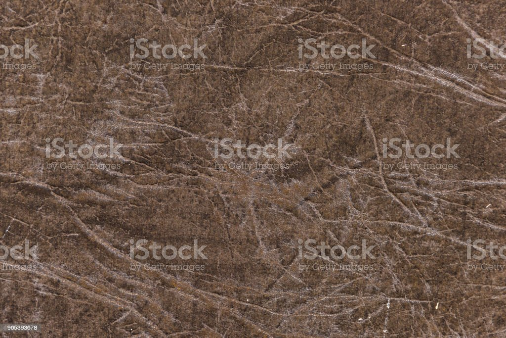 Brown genuine leather detailed background royalty-free stock photo