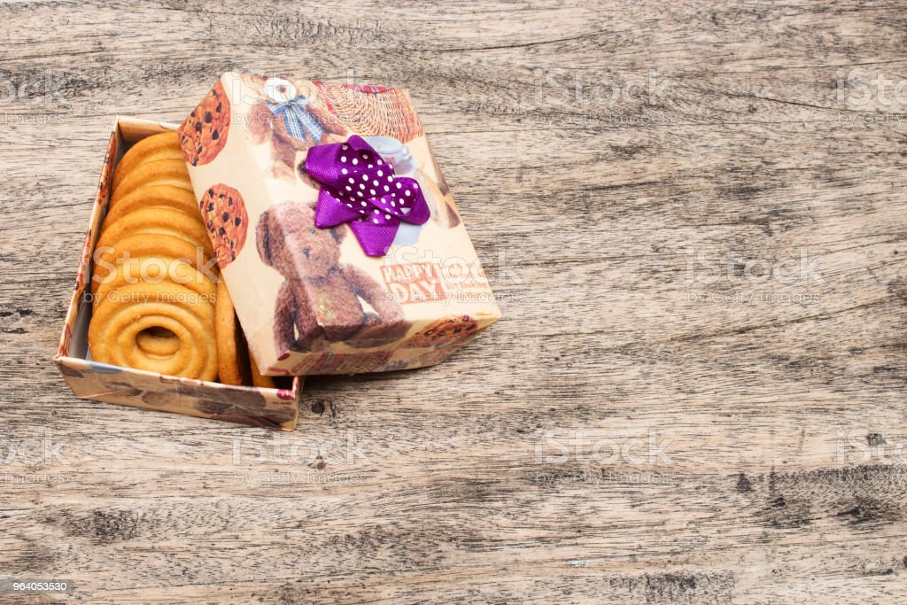 Brown Gift Box - Royalty-free Bear Stock Photo