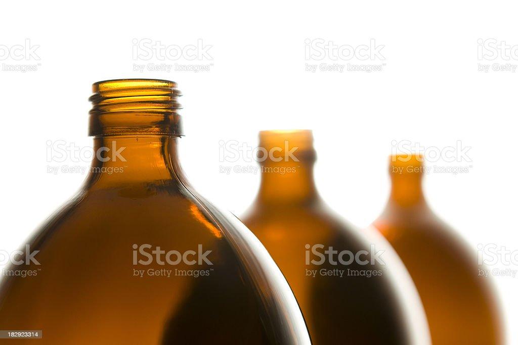 Braun Glas-Flaschen – Foto
