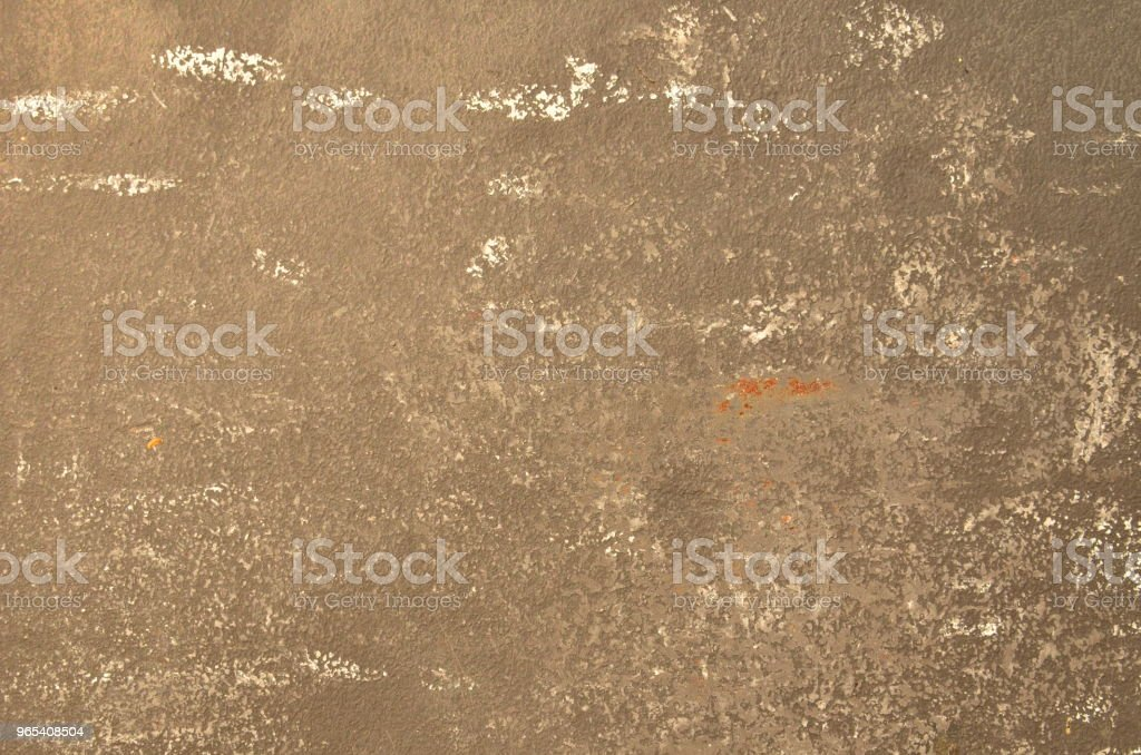 Brown gray weathered paint on metal zbiór zdjęć royalty-free