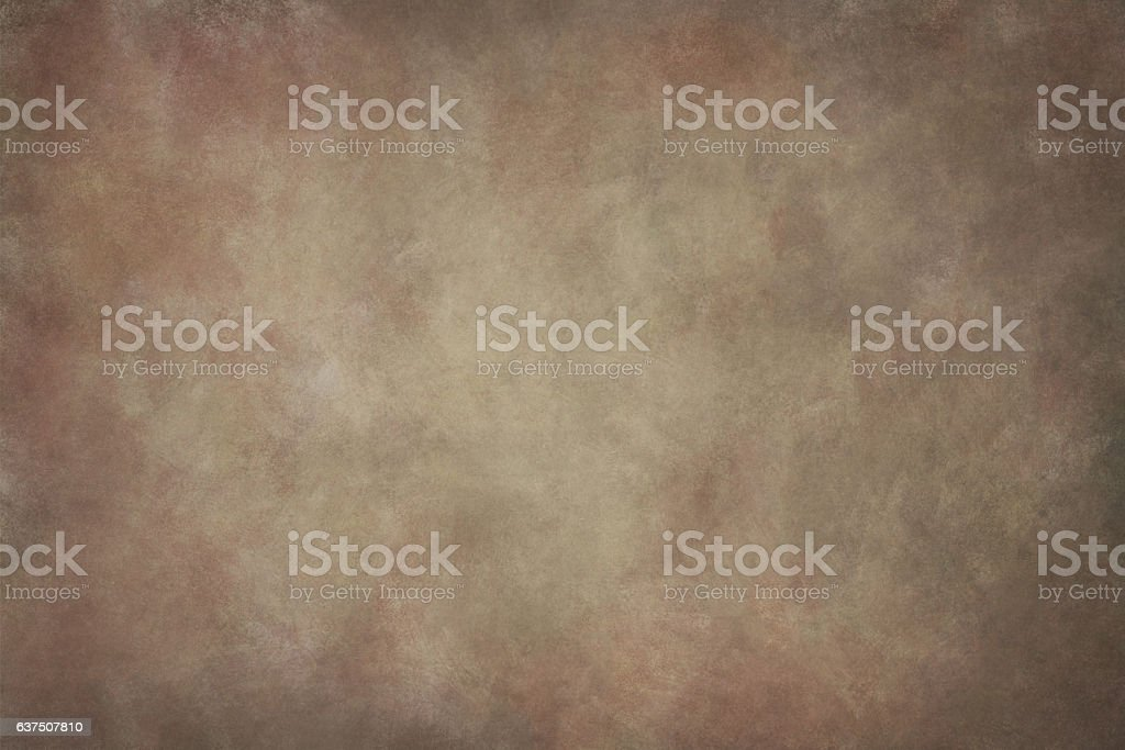 Brown hand-painted background stock photo