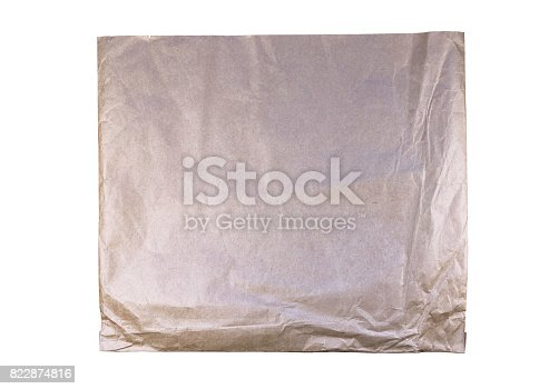 947207308istockphoto Brown isolated vintage paper bag 822874816
