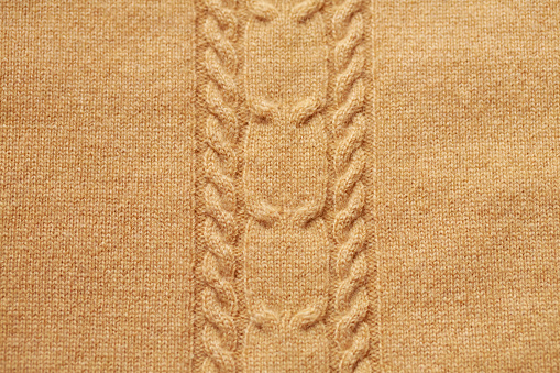 Brown Knitted Woolen Background Stock Photo & More Pictures of Affectionate