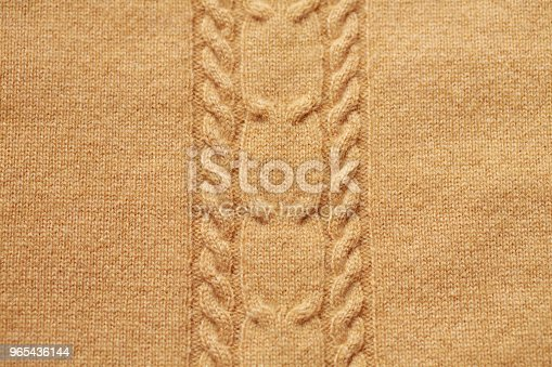 Brown Knitted Woolen Background - Stockowe zdjęcia i więcej obrazów Biały